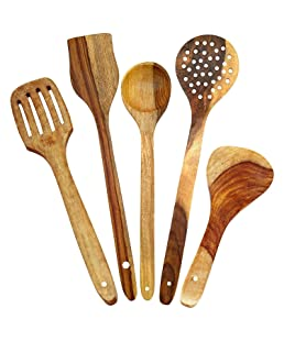 Aarsun Woods Spoon Set For Kitchen / Wooden Spatula