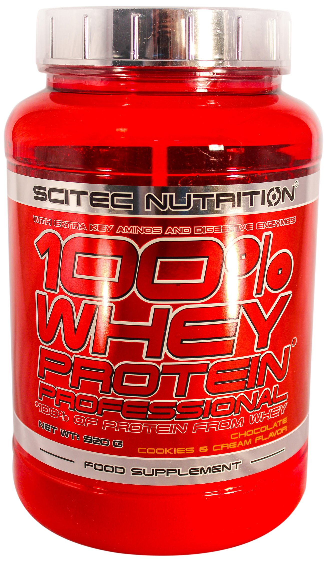 Scitec Nutrition 100% Whey Professional 920G Chocolate Cookies & Cream