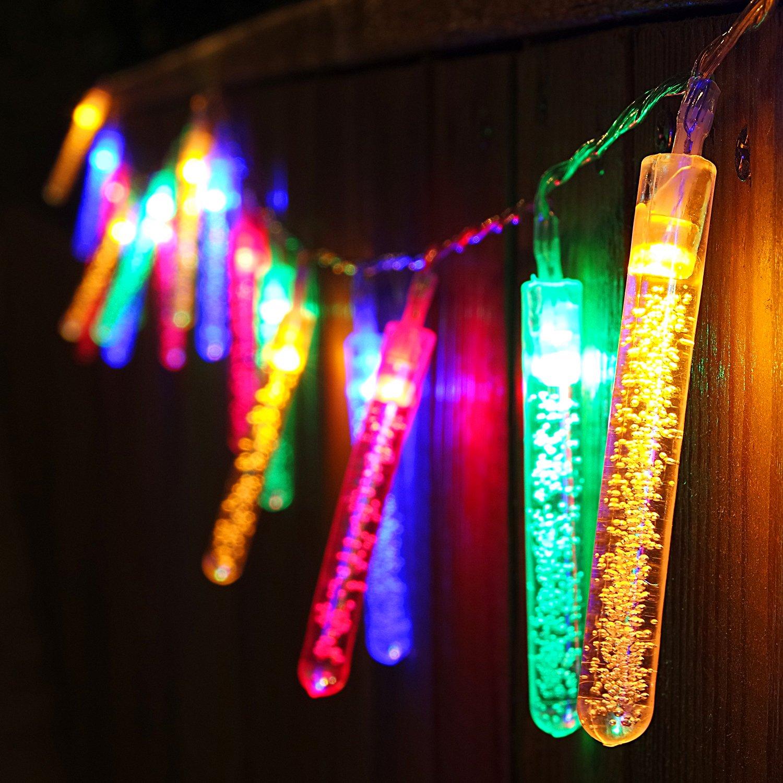 Amazoncom 722Ft 20 Led Bubble Stick String Lights, Utility Ambiance