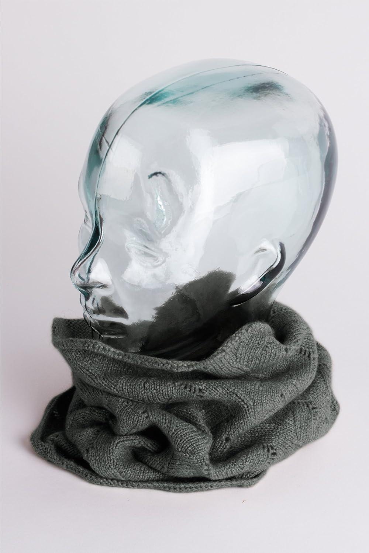 Cuello de cachemira para hombre color gris oscuro 100/% cachemira Love Cashmere