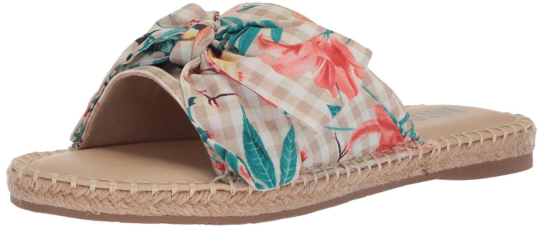 MIA Amore Women's Brenda Slide Sandal B077ZKVRBQ 10 M US|Natural Floral