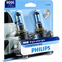 2-Pack Philips 9006 CrystalVision Bright White Headlight Bulb
