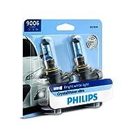 Philips 9006 CrystalVision Ultra Upgrade Headlight Bulb, 2 Pack