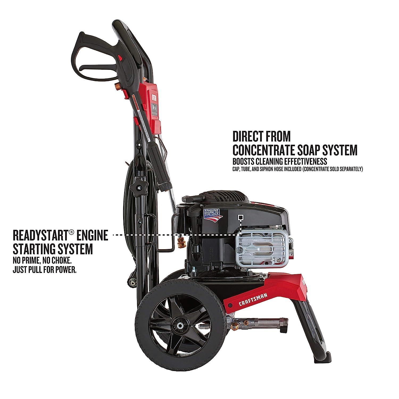 Amazon.com: Craftsman Motor de lavado a presión de gas ...