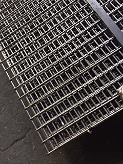 Stainless Steel Welded Wire Mesh Panel 2440 x 1220 x 50 x 50 x 3.0mm ...