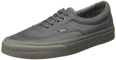 Amazon.com  Vans Unisex Era Gray Gray Sneaker - 7.5  Shoes 8c5d37b2d213