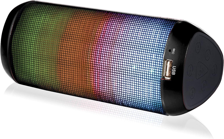 Altavoz Portátil Bluetooth - 7 W - Iluminación LED