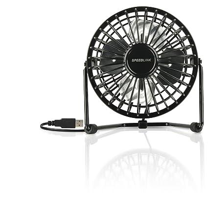 Amazon.com: Speedlink Tornado Two Speed Usb Desk Turbo Fan With Adjustable Tilt Black S: Home & Kitchen