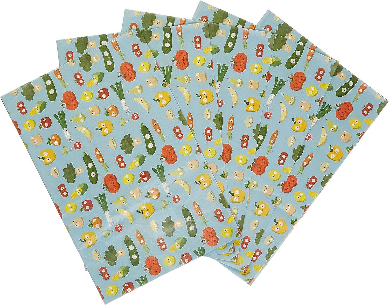 Une pochette de 20 feuilles 30x40 cm Fruits et l/égumes Decopatch FDA730O