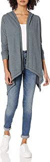 product image for good hYOUman Women's Kimberly Long Sleeve Hooded Cardigan