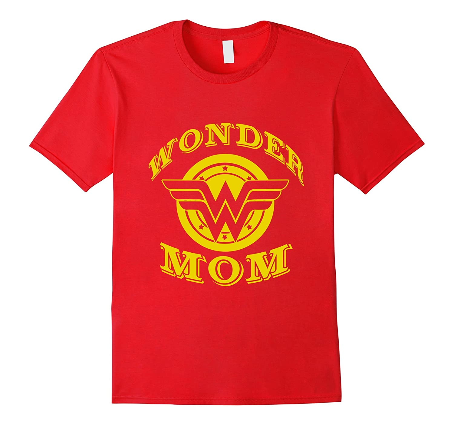 Wonder Mom T Shirt Gift For Super Mom On Mothers Day-Art