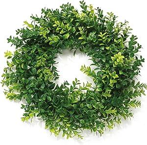 Boxwood Wreath for Front Door, 19
