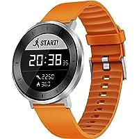 Huawei, Reloj Pulsera Fit Smart Fitness con Monitor de Ritmo cardíaco y sueño, Resistente al Agua, Seguimiento de Actividad, Correa Deportiva Naranja, pequeño (garantía de EE.UU.)