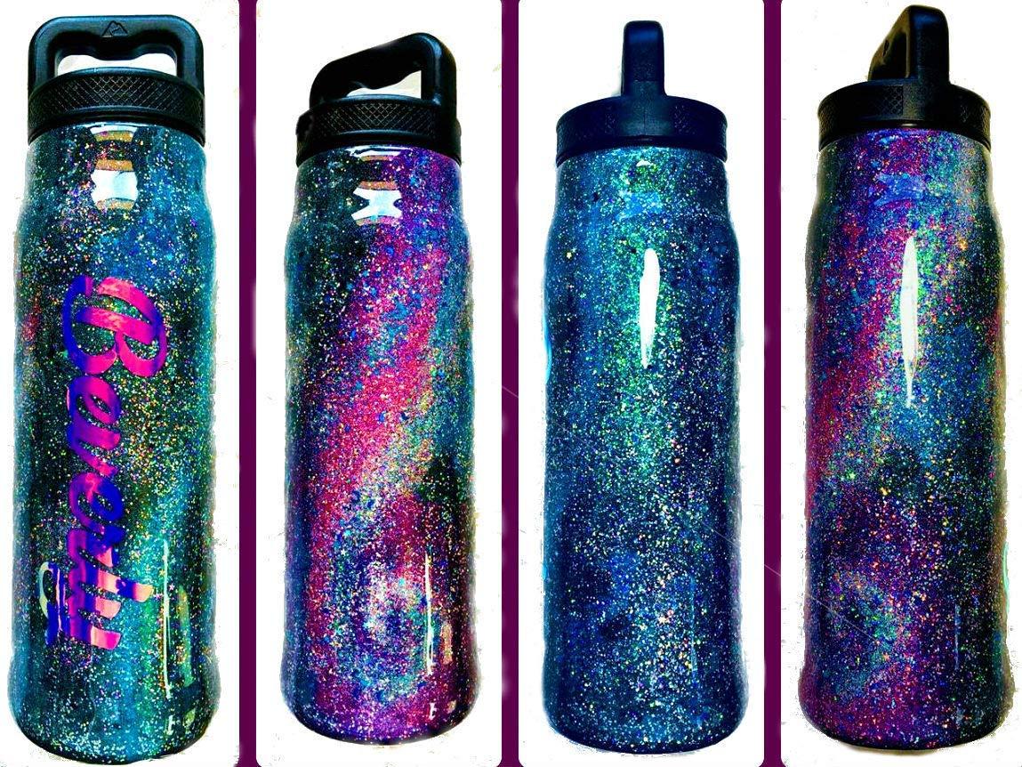 Galaxy Custom Water Bottle
