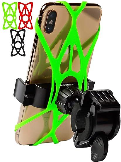 Bicycle Phone Mount >> Amazon Com Bike Phone Mount For Any Smart Phone Iphone X 8 7 6 5