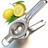 Innovee Lemon Squeezer - Quality 18/10 Stainless Steel Manual Citrus Press With Lemon Recipes Ebook