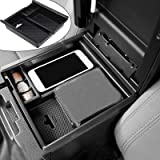 anngrowy Center Console Accessory Organizer Compatible with Toyota Tacoma Accessories 2016-2019 2020 2021 Insert ABS…