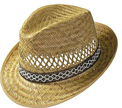 8ee2c578cce Harvester Straw Hat straw hats holiday hat (53 cm - nature)