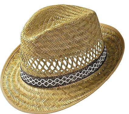 Harvester Straw Hat straw hats holiday hat (53 cm - nature) 847cd9ff55ef