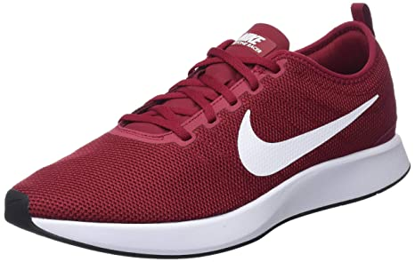 Nike Dualtone Racer, Zapatillas de Gimnasia para Hombre, Rojo (Red Crush/White