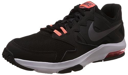 new product 6c7f8 82a12 Nike Air MAX Crusher 2 - Zapatillas de Cross Training Unisex, Color  NegroGris OscuroNaranjaBlanco, Talla 41 Amazon.es Zapatos y  complementos