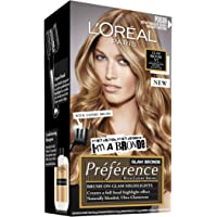 L'Oréal Paris Préférence Permanent Hair Colour - Glam Lights No2 (Intense, Fade-Defying Colour)