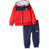 PUMA Baby Boys' Fleece Zip Up Hoodie Set
