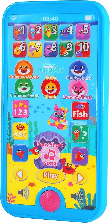 WowWee Pinkfong Baby Shark Mini Tablet - Educational Preschool Toy