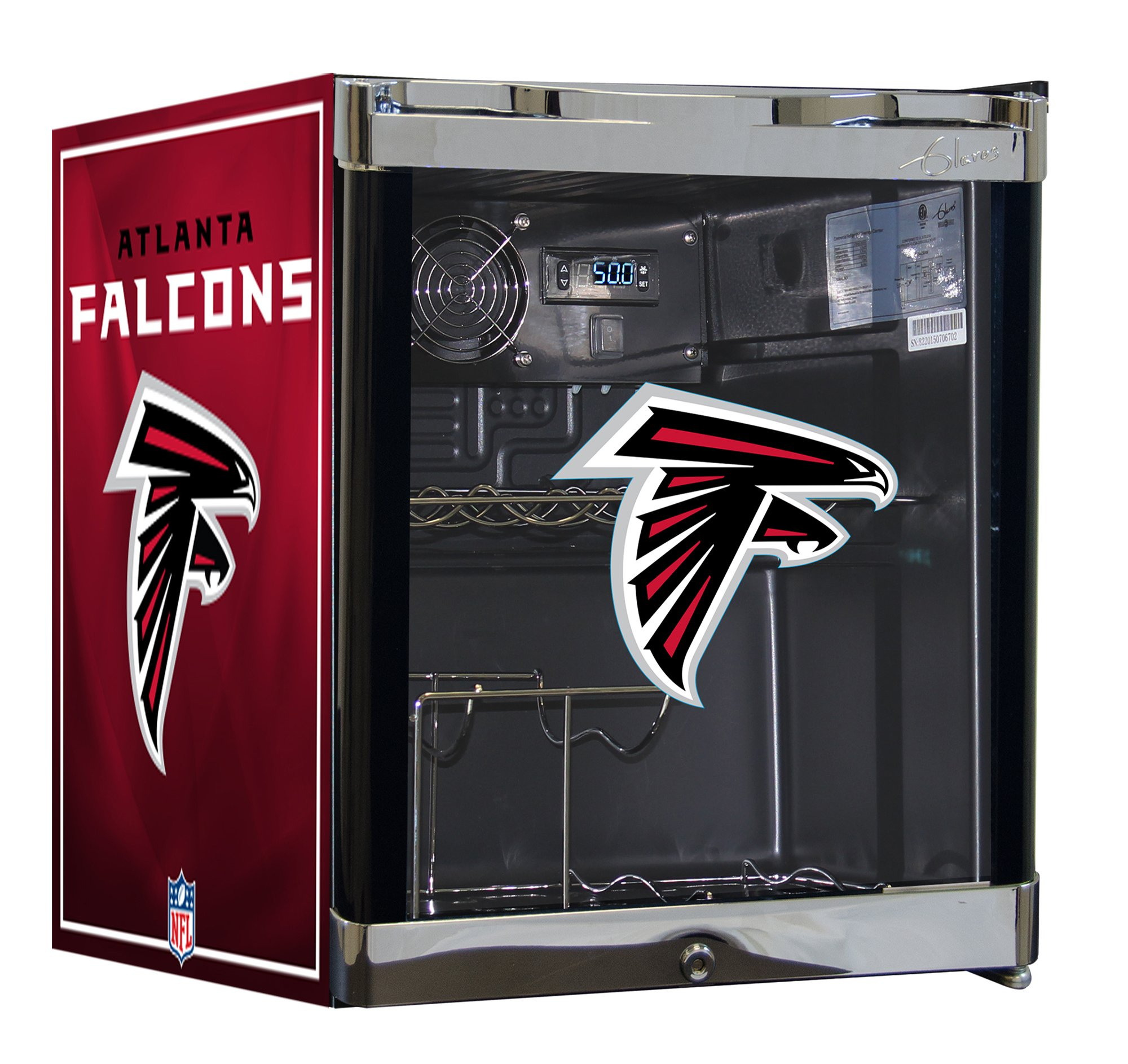 NFL Wine Cooler & Beverage Center Combo - Atlanta Falcons