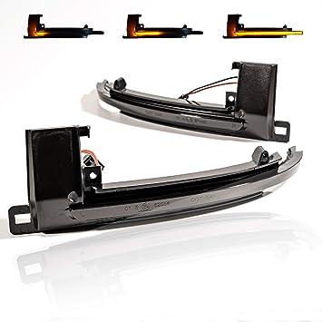 2 X Led Blinker Spiegelblinker Blinkleuchte Dynamische Laufblinker Bewegliche Led Streifen Mit Zulassung V 170807 Auto