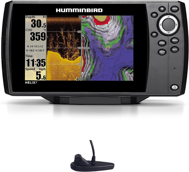 Humminbird Helix 7 DI GPS Down Imaging Echolot Mar Tarjeta Combo ...