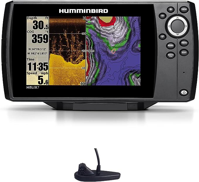 Humminbird Helix 7 DI GPS Down Imaging Echolot Mar Tarjeta Combo para Plotter Montaje Fijo: Amazon.es: Electrónica