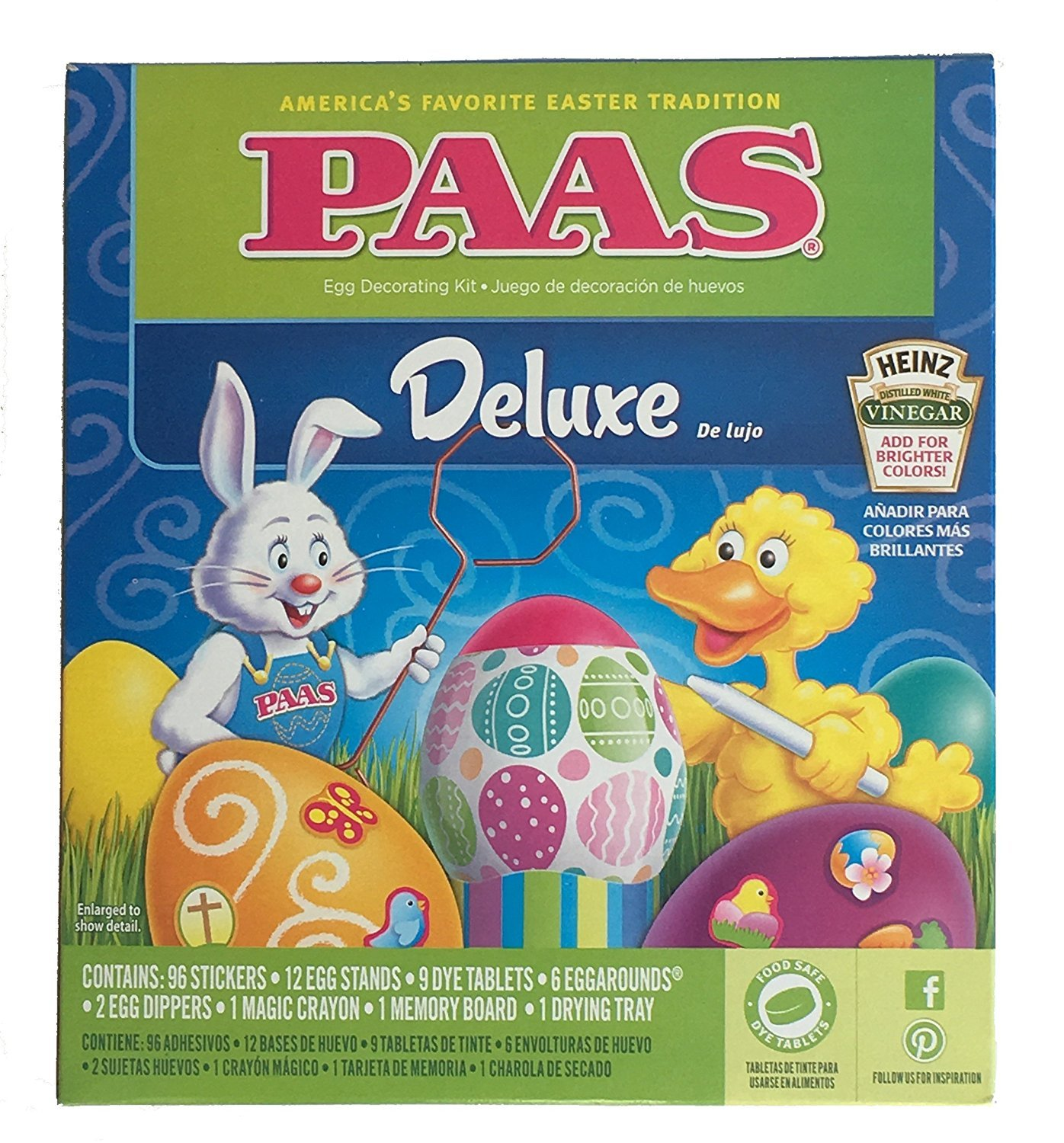 Paas Classic Egg Decorating Kit With 3 Bonus Neon Dye Colors