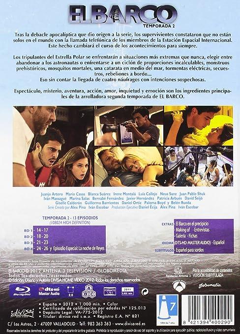 El Barco - 2 Temp [Blu-ray]: Amazon.es: Mario Casas, Juanjo ...