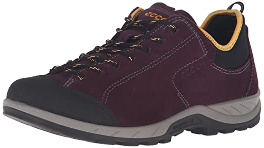 ECCO Women's Yura Low Hiking, Black/Mauve, 36 EU/5-5.5