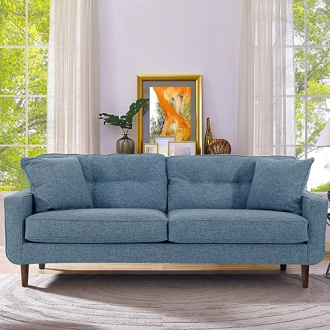 Amazon.com: Juego de 4 patas de madera para sofá de 8 ...