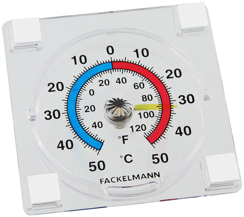 Fackelmann 63751 - Termómetro de Exterior 7, 7x7, 7x2cm Fackelmann GmbH + Co. KG