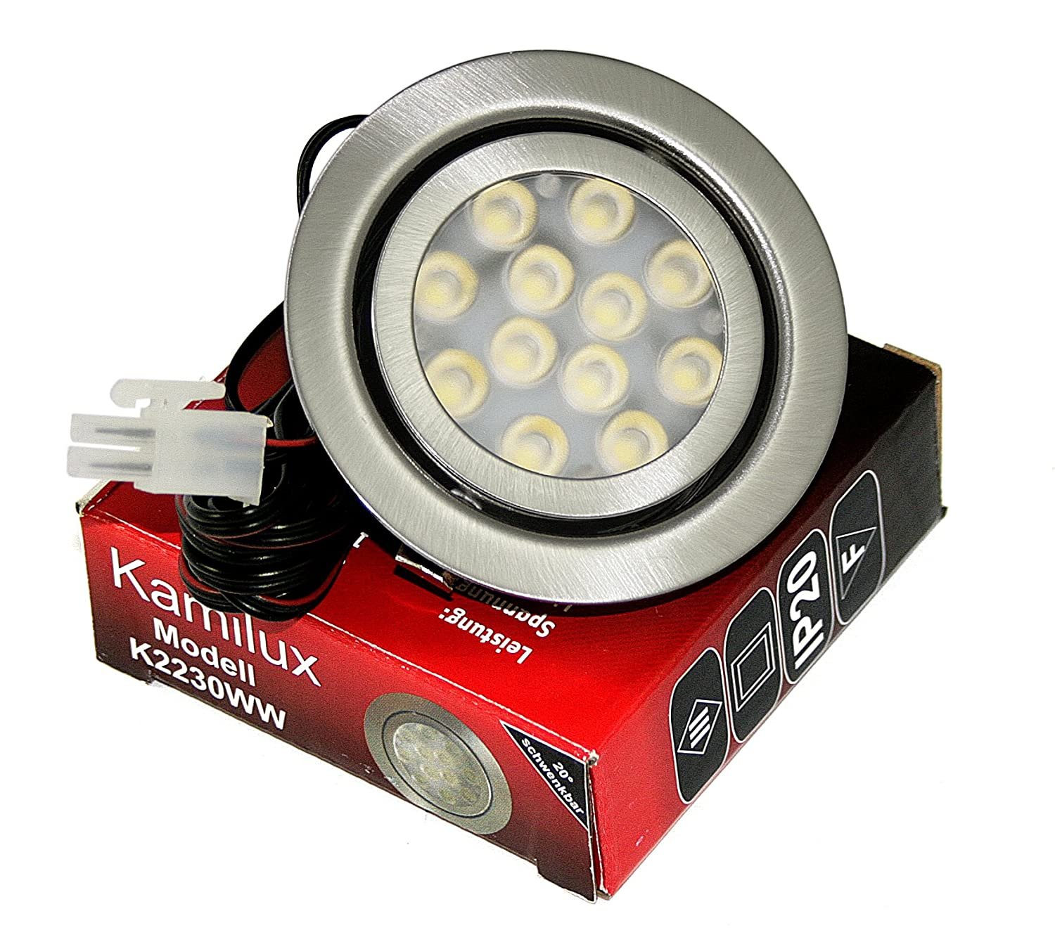 Focos de cocina led beautiful tipos de downlight led y - Downlight cocina led ...