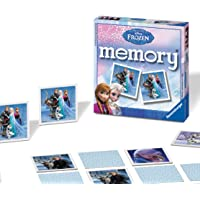 Ravensburger UK 21111 Ravensburger Disney Frozen-Mini Memory Kids Age 3 Years and Up-A Classic Picture Snap Matching…