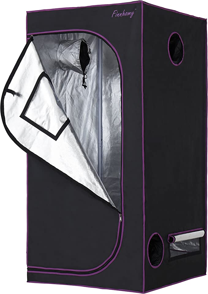 Finnhomy 36x36x72 Grow Tent - Creates The Best Environment for Plant Growing