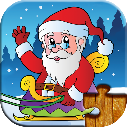 Christmas Games for Kids - Free Trial Edition - Fun and Educational Jigsaw Puzzle Game for Kids and Preschool Toddlers, Boys and Girls 2, 3, 4, or 5 Years Old (Rudolph Penguin)
