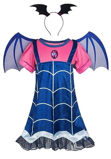 Amazon Com Wenge Girls Vampirina Costume Vampirina Cartoon Dress