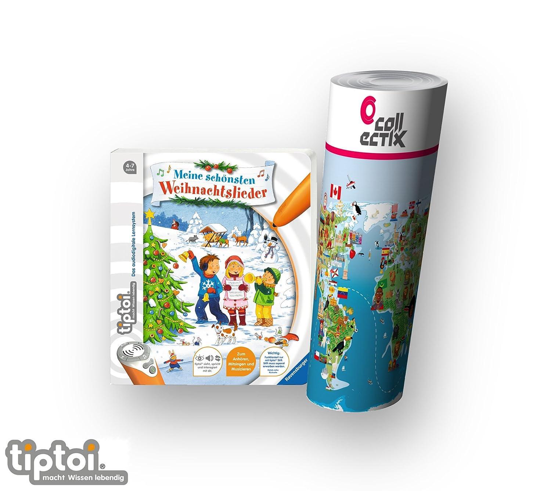 Ravensburger tiptoi® Weihnachten Musik Kinder Lieder Buch | Meine ...