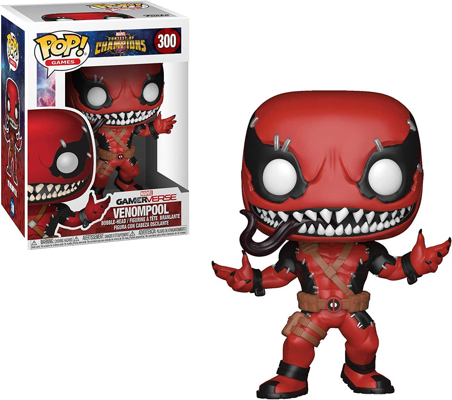 Funko Pop!- Games: Marvel Contest of Champions Venompool Figura de Vinilo (26710): Amazon.es: Juguetes y juegos