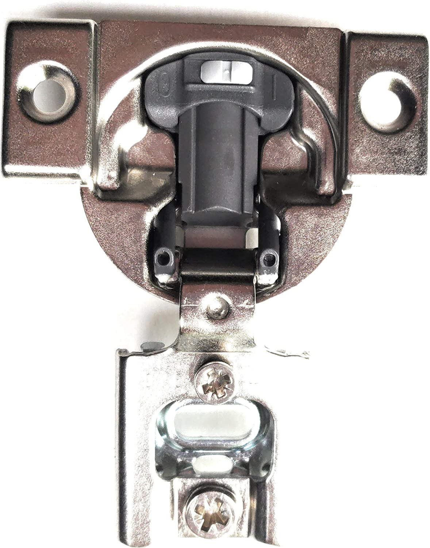 20 Pcs (10 Pairs) Soft Close Blum Blumotion Screw On Hydraulic Compact Hinge - 38N Series 105 deg 3/8 in Overlay with Screws