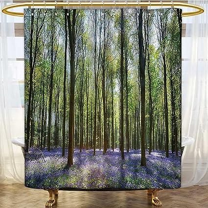 Amazon AmaPark Hotel Quality Mold Resistant Fabric Shower
