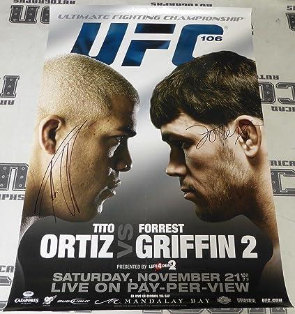 Tito Ortiz Forrest Griffin Sig...