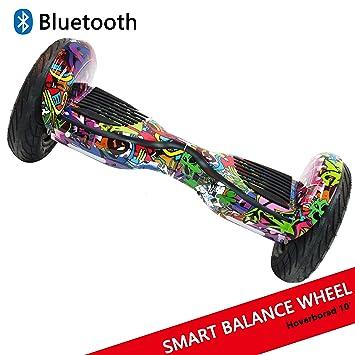 "Dragon Hoverboard con Ruedas de 10"" Scooter eléctrico Self-Balancing Self Blance Scooter Monopatín"