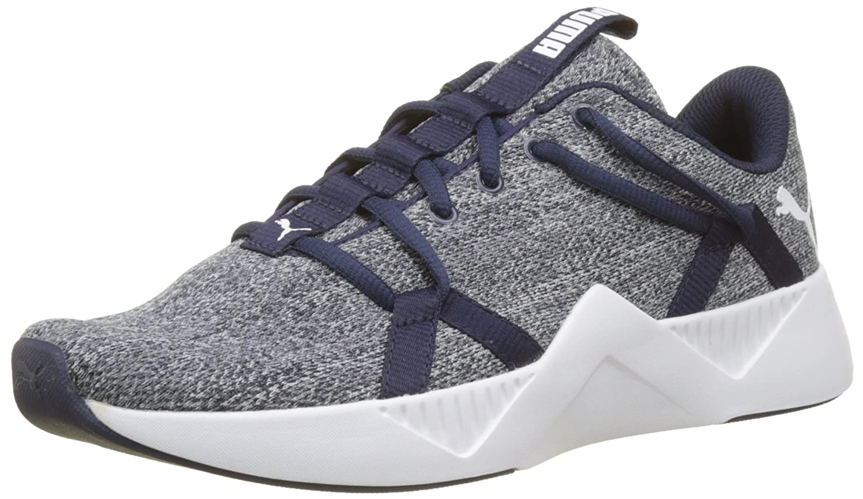 Puma Incite Knit Wn's, Zapatillas de Deporte para Mujer 36 EU|Azul (Peacoat 02)