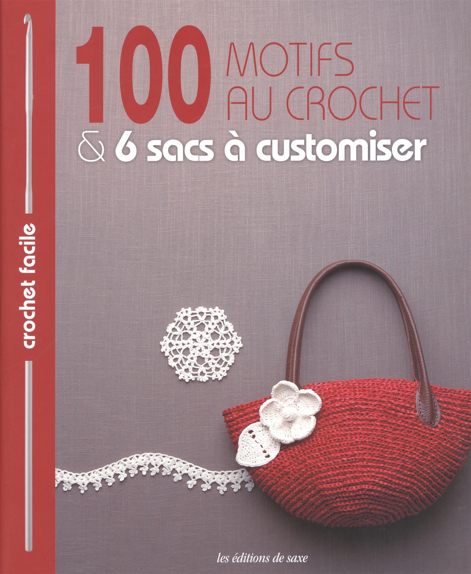 100 Motifs Pour Décorer Les Sacs Au Crochet Crochet Facile